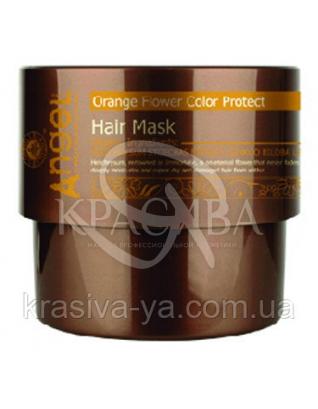 Маска для окрашенных волос «Сияющий цвет» с цветком апельсина, 500г