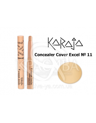 Karaja Корректор - карандаш Conceler Cover Excel 11, 2.5 г : Корректор для лица