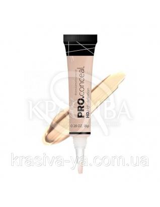 L.A.Girl GC 970 Pro Conceal HD Concealer Light Ivory - Консилер под глаза (светлая слоновая кость), 8 г : Консилер для лица