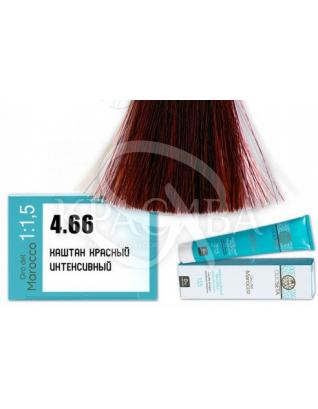 Barex Olioseta ODM - Крем-краска безаммиачная с маслом арганы 4.66 Каштан красный интенсивный, 100 мл :