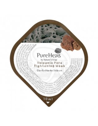 Маска з вулканічним попелом для очищення і звуження пор : PureHeal's