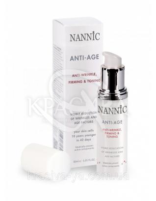 Anti-age Factor,normal&mixed Антивозростная активная сыворотка в креме,нормальная и комбинированная кожа,30 мл : Nannic