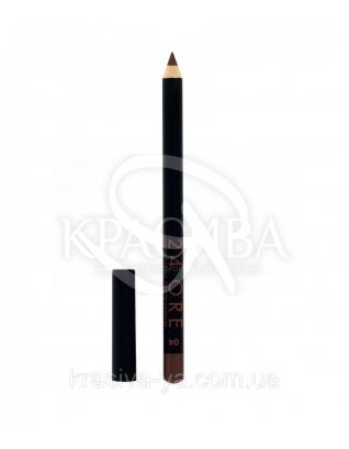 "Стойкий косметический карандаш для губ ""Lip Pencil 24 Ore"" 04 Brown, 1.5 г : Карандаш для губ"