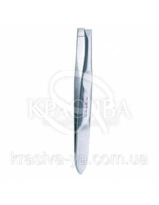 Beter Пинцет для удаления волос с ровными кончиками нержавеющая сталь, 5.6 см : Аксессуары