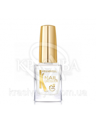 "Лак для нігтів Nail Polish ""White on White"", 12 мл : Keenwell"