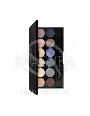 Sleek I-Divine Palette Storm - Палетка теней для век, 12*1.1 г : Sleek make up