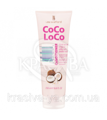 Увлажняющий кондиционер с кокосовым маслом Coco Loco Conditioner Straw to Silk, 250 мл - 1