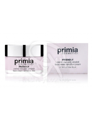 Friendly Face Cream-Sensitive Skin - Крем для чутливої шкіри 50 мл : Primia Cosmetici