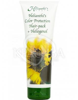 """Маска-бальзам для защиты цвета окрашенных волос """"Хелиантис"""" :"""