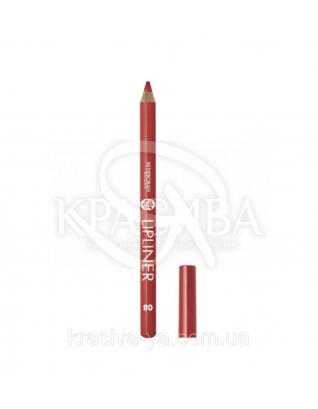 """Косметический карандаш для губ Lip Liner """"New Color Range"""" 08 Scarlet, 1.5 г : Карандаш для губ"""