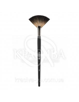 141 Fan brush, racoon - Віялова кисть, ворс єнот : Nastelle
