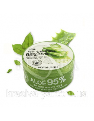 Гель з Алое Віра Royal Skin Jeju Aloe Vera 95% Soothing Gel, 300 мл : Royal Skin
