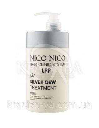 Маска для волос с экстрактом серебра NICI NICO Silver Dew Treatment, 1000 мл : Aomi