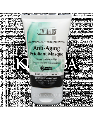 Anti-Ageing Exfoliant Masque Омолоджуюча відлущувальна маска з АНА, 118 мл : GlyMed Plus