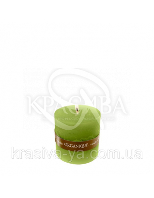 Свеча ароматерапевтическая маленькая 50*50 - Греческий (Зеленый), 90 г : Товары для дома