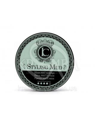 Styling Mud Extra Matt Hold Стайлинговая глина сильною, матовою фіксації, 100 мл :