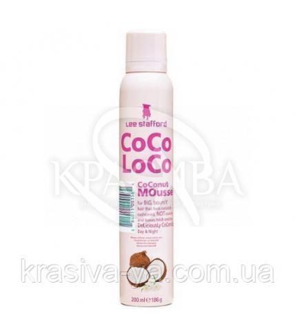 Фиксирующая пенка для волос Coco Loco Coconut Mousse, 200 мл - 1