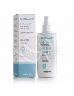 Sebovalis Hair Solution - Лосьон для лечения себореи, 100 мл