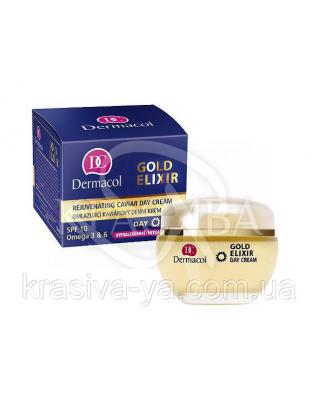 DC Gold Elixir Rejuvenating Caviar Day Cream Крем денний омолоджуючий з екстрактом ікри, 50 мл :