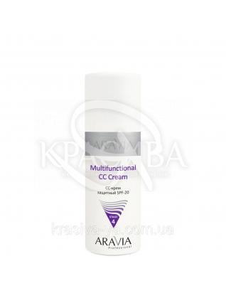 Aravia СС крем защитный SPF 20 Multifunctional CC Cream, 150 мл : СС-крем