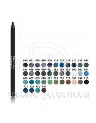 Косметичний олівець для очей 662 Oceanic Lilac, 1.2 м : Beyu