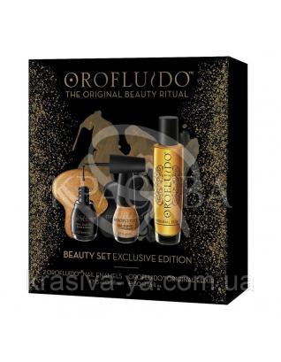 Эксклюзивный подарочный набор (эликсир, 2 лака для ногтей), 50 мл+15 мл+15 мл : Beauty-боксы для волос