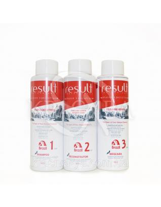 Набор Four-C EKO Keratin Кератиновое выпрямления и восстановления волос  (Шаг 1+Шаг2+Шаг3), 3*100 мл : Beauty-боксы для волос