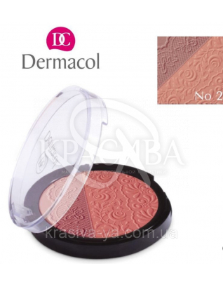 DC Make-up Duo Blusher 02 Двоколірні компактні рум'яна, 8.5 г
