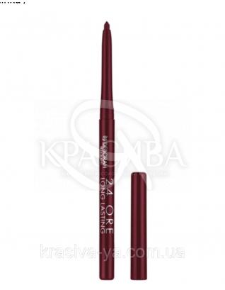 """Стійкий косметичний олівець для губ """"Long Lastin 24 Ore"""" 1 Dark Red, 0.4 г : Олівець для губ"""