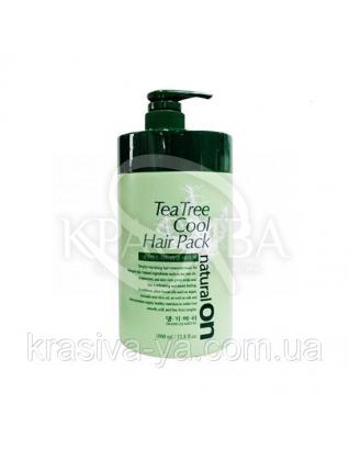 Натуральная освежающая маска на основе чайного дерева DAENG GI MEO RI Tea Tree Cool Hair Pack, 1000 мл