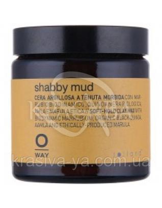 О. Вей Шебби Мад Воск мягкой фиксации для волос, 100 мл : Rolland