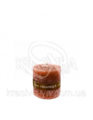 Свеча ароматерапевтическая маленькая 50*50 - Корица (Коричневый), 90 г