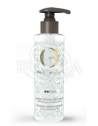 Barex Olioseta ODM - Моделирующее молочко с маслом арганы и маслом семян льна, 250 мл : Молочко для волос