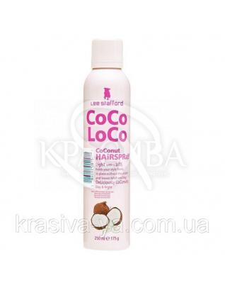 Фіксуючий спрей для волосся Coco Loco Coconut Hairspray, 250 мл : Lee Stafford
