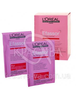 Efassor - Засіб для видалення штучного пігменту волосся, 12*28 г : Засоби для видалення фарби з волосся