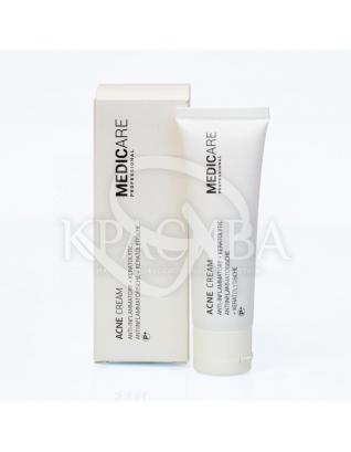Acne Cream Anti-Inflamnatory + Keratolytic Крем для проблемної шкіри, 50 мл : Medicare