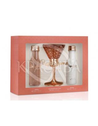 Жіноча парфумована вода + Лосьйон для тіла + Гель для тіла : Жіночі парфумерні набори