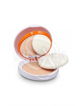 Сонцезахисна компактна пудра на водяній основі для жирної та комбінованої шкіри SPF50 : Cantabria Labs