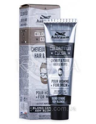 Coloration Color Ash Brown Фарба для вусів і бороди 6.1 Попелястий блондин, 60 г : Hairgum
