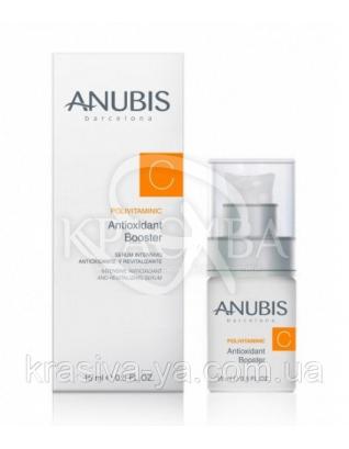 PolivitaminiC Antioxidant Booster Антиоксидантний вітамінізує бустер з гіалуронової кислотою, 15 мл : Anubis
