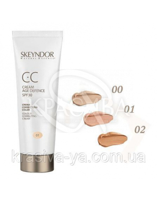 CC Anti-Age крем 00 SPF 30 (очень светлая кожи), 40 мл : СС-крем