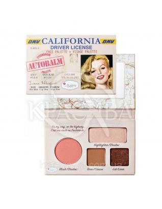 The Balm Mini Palettes AutiBalm California - Палетка для макияжа, 4.15 г : Палетки