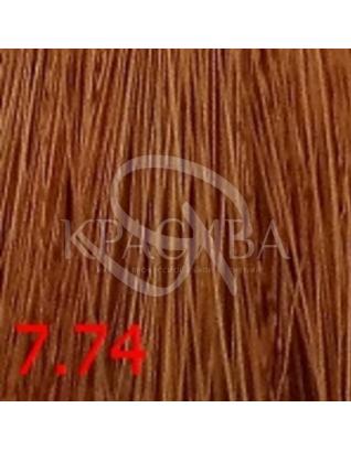 Cutrin Aurora Demi Color - Безаммиачная краска для волос 7.74 Булочка с корицей, 60 мл :