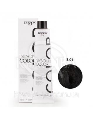 Dikson Color Барвник для волосся холодний натуральний Попіл 5.01 5NF, 120 мл : Dikson
