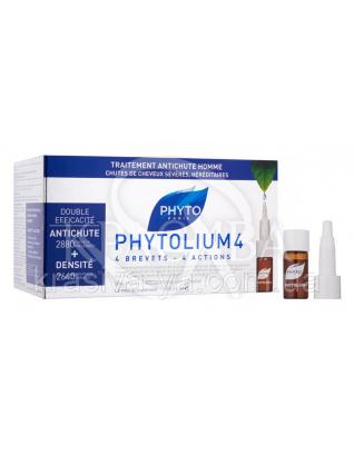 Фитолиум 4 концентрат против выпадения волос, 12*3.5 мл