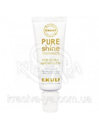 Отбеливающая зубная паста Ekulf Pure Shine, 3 * 12 мл