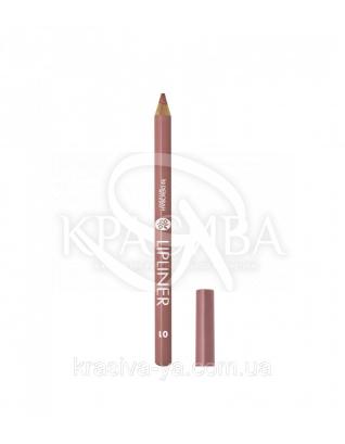 """Косметический карандаш для губ Lip Liner """"New Color Range"""" 01 Nude, 1.5 г : Карандаш для губ"""