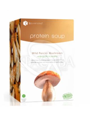 Протеиновый грибной суп : Органические напитки и соки