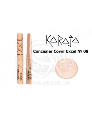 Karaja Корректор - карандаш Conceler Cover Excel 08, 2.5 г : Корректор для лица