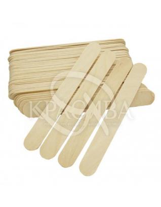 Silk & Soft Шпатель деревянный для депиляции 150 мм х 17 мм х 1,6 мм, 100 шт : Косметика для тела и ванны